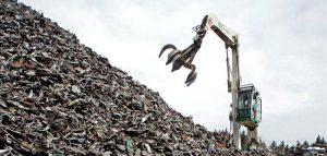 Сбор и переработка лома черного металла
