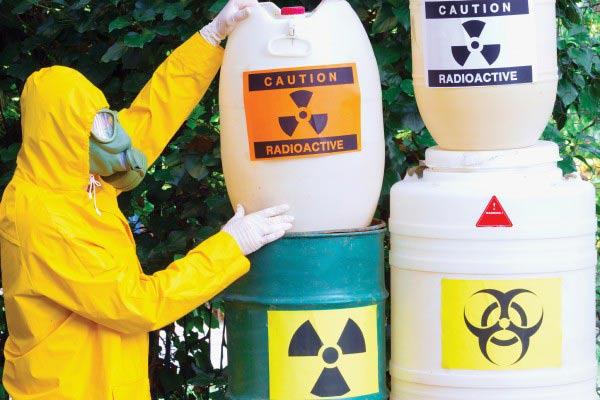 Работа с вредными и опасными веществами