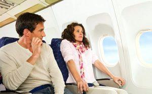 риски в самолёте