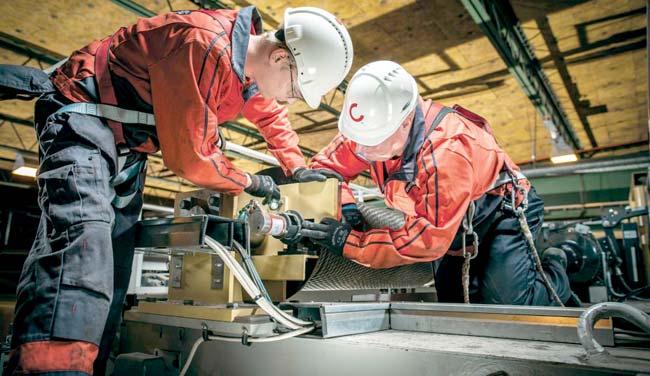 Обеспечение безопасности при работе с механизмами