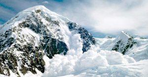 как вести себя при сходе лавины