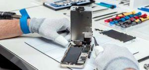 использование СИЗ при ремонте iPhone