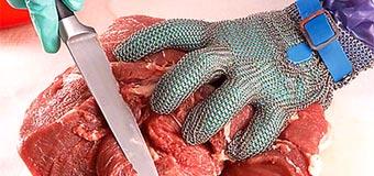 Кольчужные перчатки – надёжная защита рук от порезов
