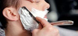 опасности при бритье опасной бритвой