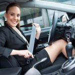 использование ремней безопасности в машине
