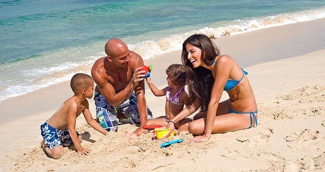 безопасный отдых на море с ребёнком