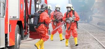 Работа спасателей при чрезвычайных ситуациях