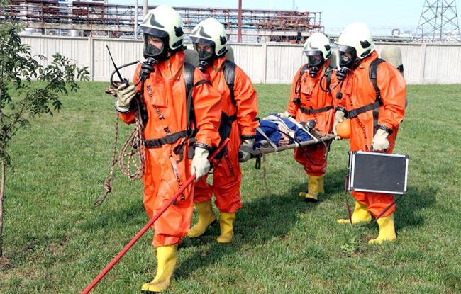 порядок действия спасателей при чрезвычайной ситуации
