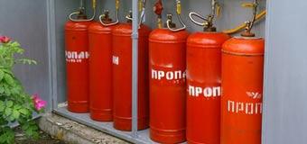 хранение и заправка газового баллона