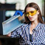 маркировка KN на защитных рабочих очках