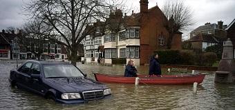 Безопасное поведение во время наводнения