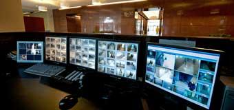 безопасность с помощью систем видеонаблюдения