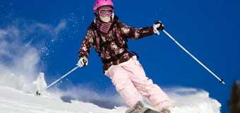 Безопасное катание на универсальных горных лыжах