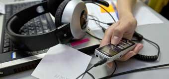 применение аудиозаписи на производстве