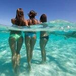купание в открытом океане