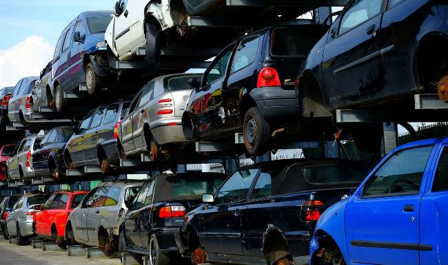утилизация машин превратившихся в автохлам