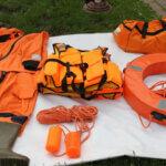 Аварийное оборудование для рыбалки с лодки