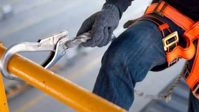 Как сделать пояс для безопасной работы на высоте?